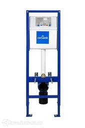 Система инсталляции Cersanit VECTOR металлический каркас для унитаза с бачком/БЕЗ КНОПКИ