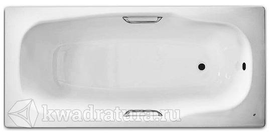 Стальная ванна с ручками BLB Atlantica 180*80