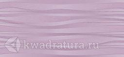 Настенная плитка InterCerama Batik фиолетовый 23*50 см