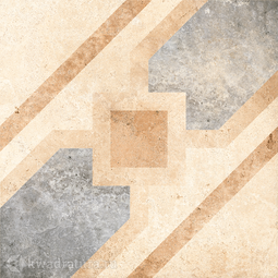 Декор для керамогранита Grasaro Tivoli Светло-бежевый G-240/S/d04 40*40 см