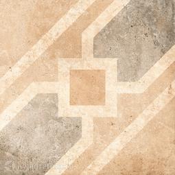 Декор для керамогранита Grasaro Tivoli Серый G-242/S/d04 40*40 см