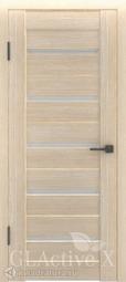 Межкомнатная дверь GreenLine X-7 капучино