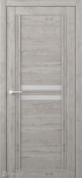 Межкомнатная дверь Фрегат (ALBERO) Каролина Графит стекло мателюкс