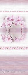 Стеновая панель ПВХ ПанельПласт Мелисса Орхидея