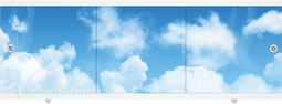 Экран под ванну Метакам Монолит-М Облака 150, 170 см