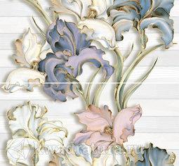 Панно для настенной плитки InterCerama Batik серый 50*46 см