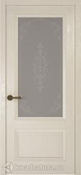 Межкомнатная дверь Океан Riva Classica 1 дуб белый с/о Флер