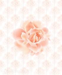 Потолочная панель ПВХ Unique Роза 2*2 м