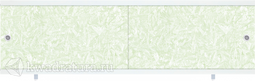 Экран под ванну Метакам Ультра Зеленый иней 150, 170 см