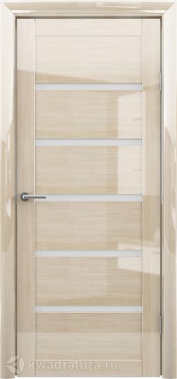 Межкомнатная дверь Фрегат (ALBERO) Вена Глянец Мокко ст матовое