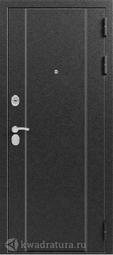 Дверь входная металлическая Эталон X-10 Серебро - седой дуб